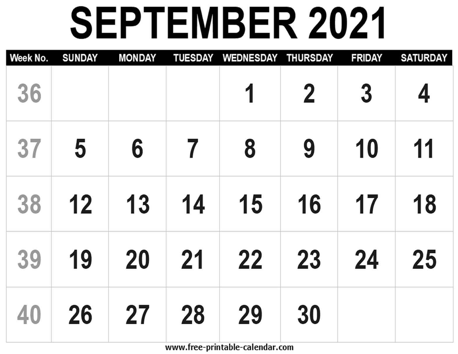 Monthly Fill In Calendar 2021 | Calendar Printables Free Blank