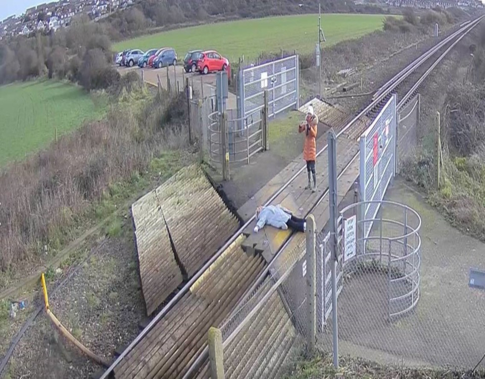 Network Rail Is Urging People To Stay Safe At Level