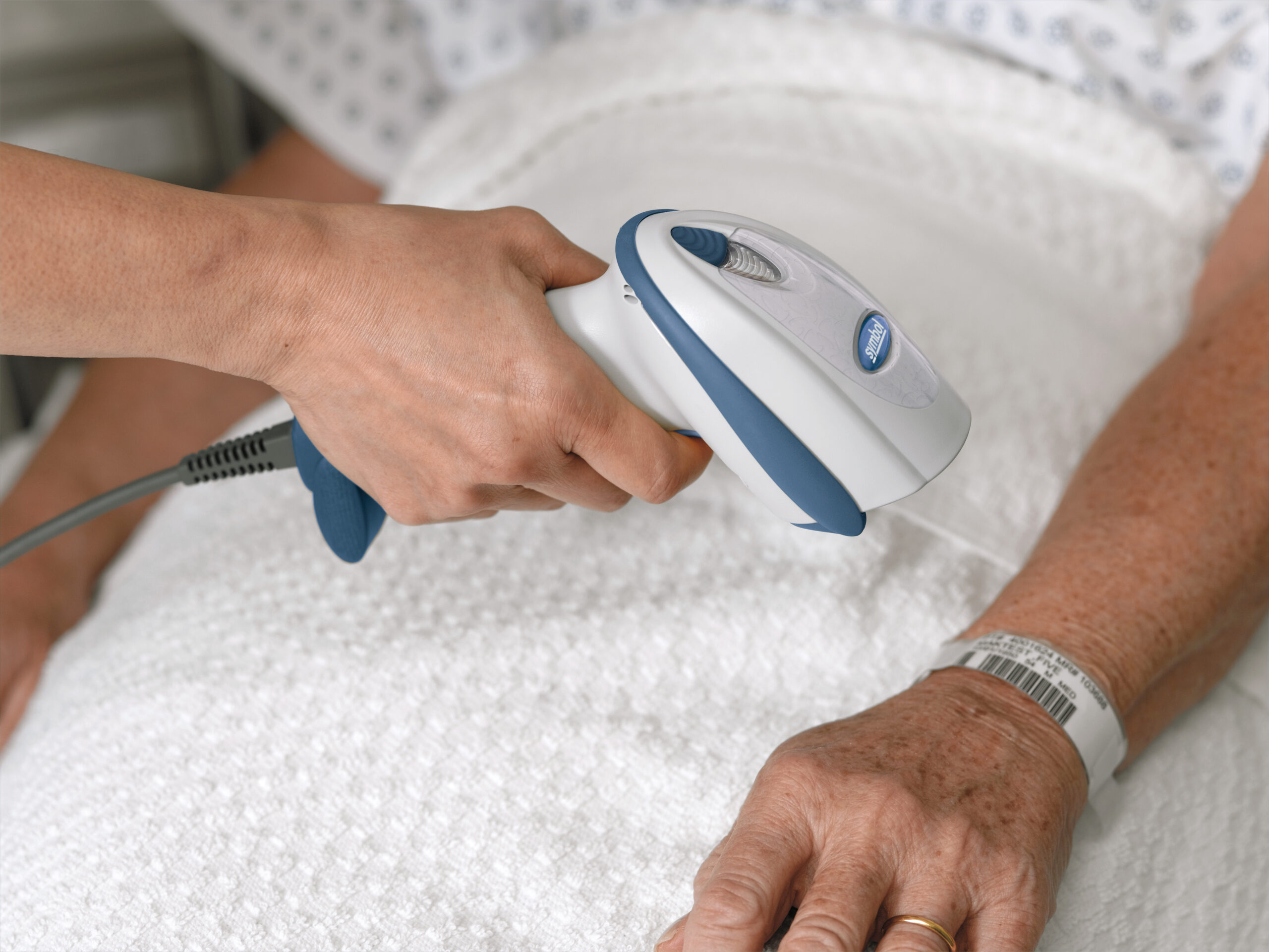 Patient Positive Id Using Patient Wristband Barcode & Scanner