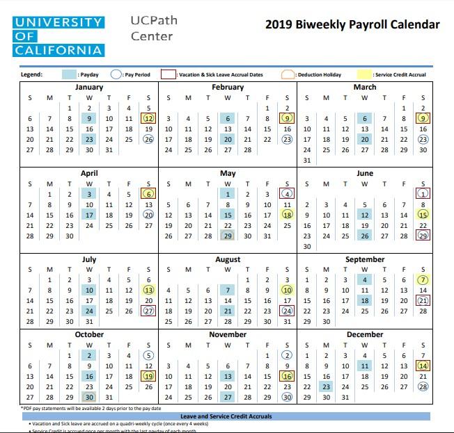 Pay Period Calendar 2021 Ucla   2021 Pay Periods Calendar