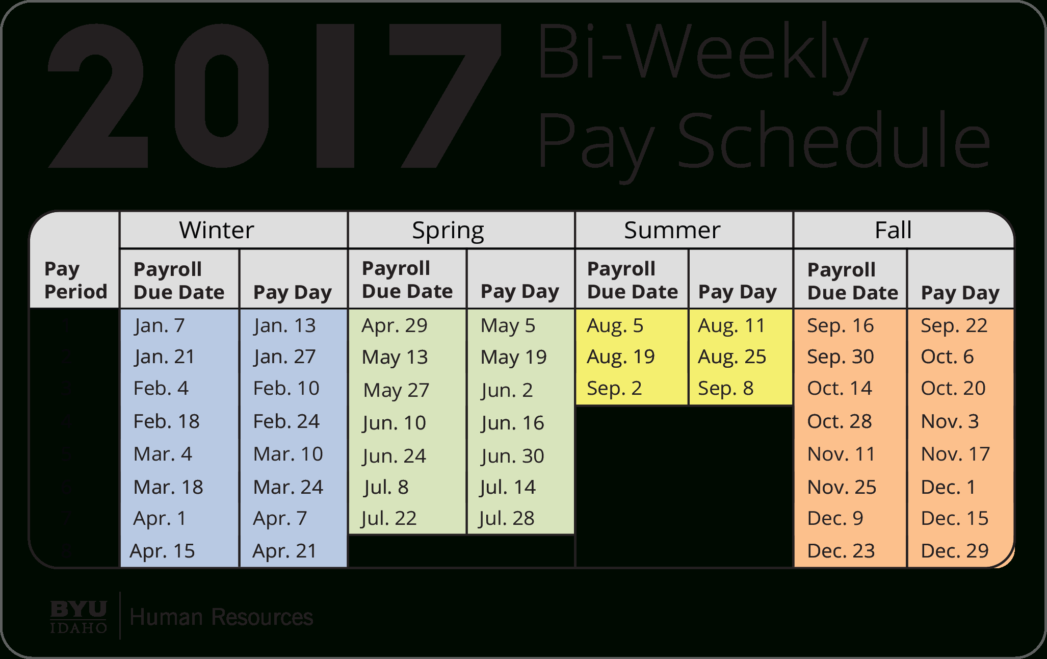 Payroll Calendar 2021 | Payroll Calendar 2020
