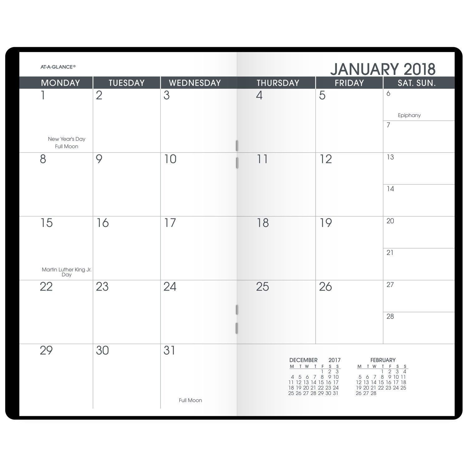 Printable Blank Monthly Calendar With Lines For Purse