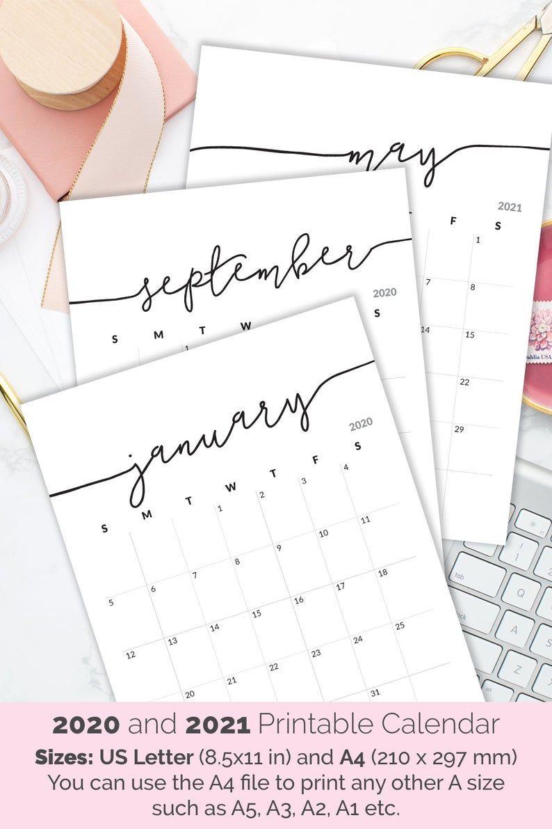 Printable Calendar 2021-2022 Calendar For Frame Planner