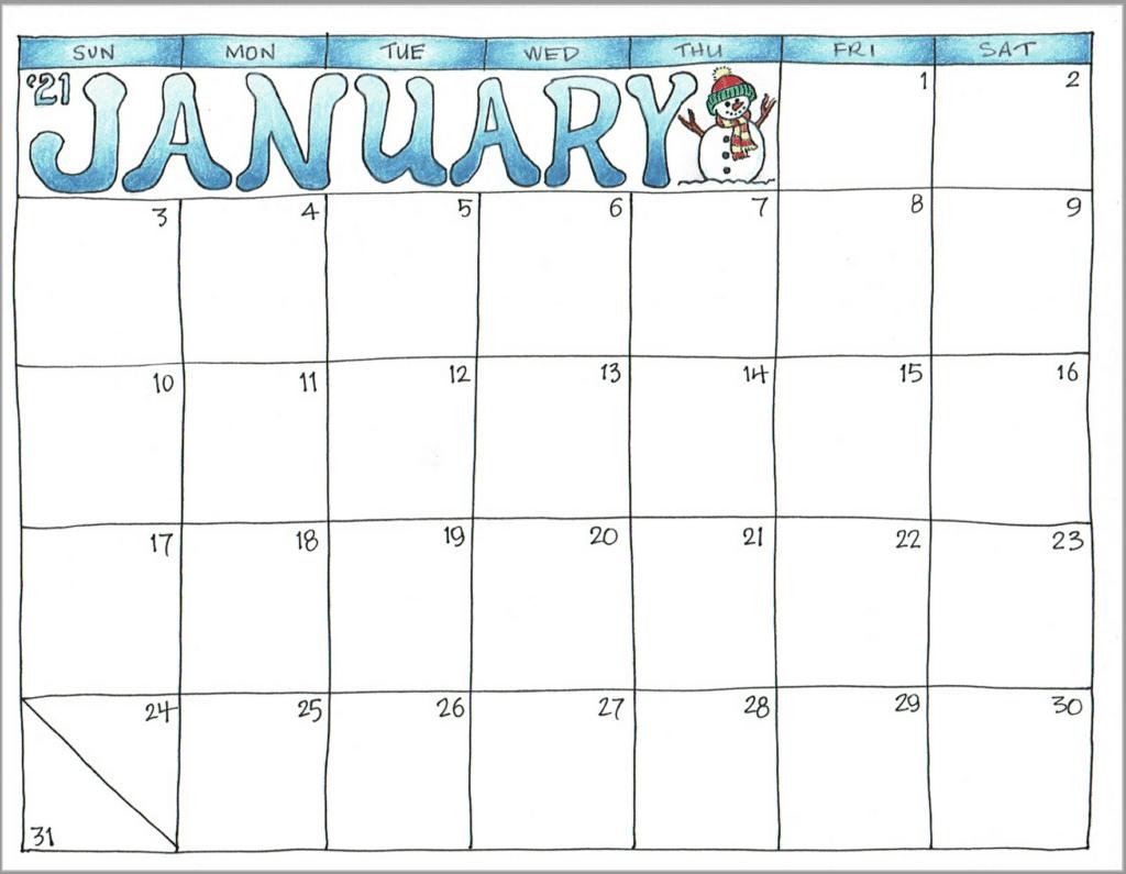 Printable Calendar 2021 Imom | Printable Calendar 2021