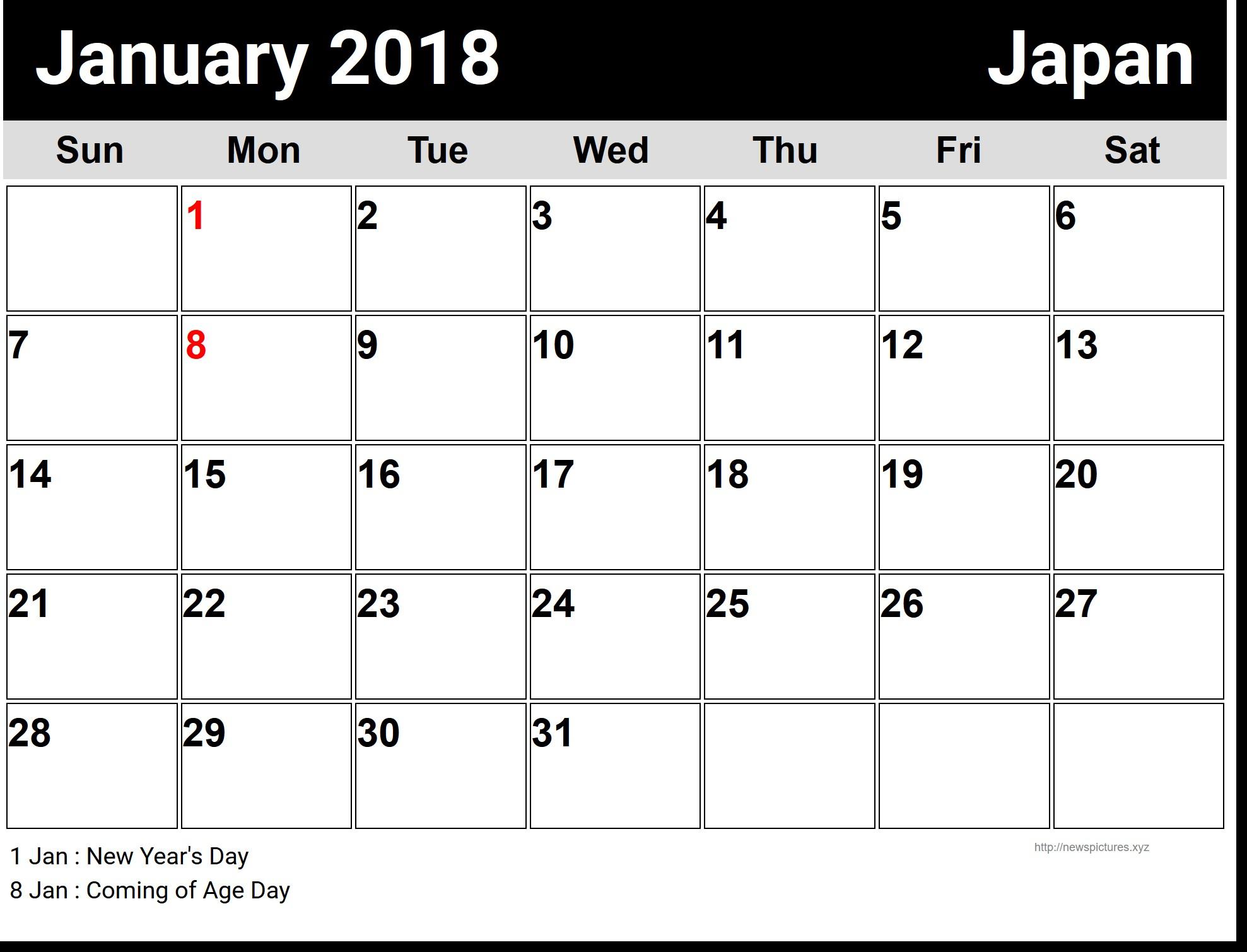 Printable Calendar Large Boxes Landscape | Calendar