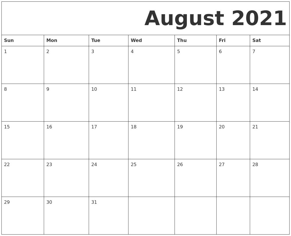 Printable Calendar Monday To Sunday   Month Calendar Printable