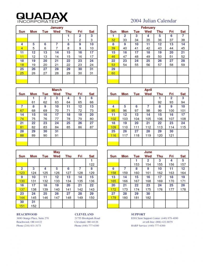 Printable Quadax Julian Calendar 2021 | Free 2021
