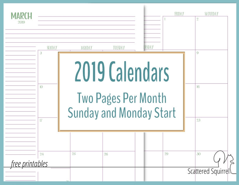 Small Pocket Size Calendar Booklet Free Template Image