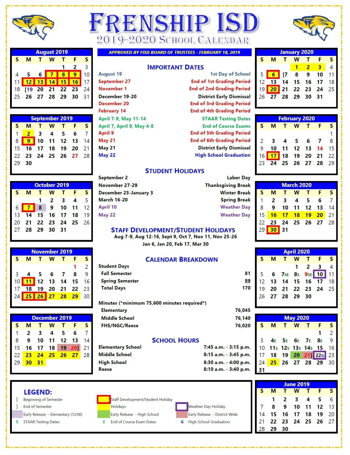 Special Calendar Days 2020 - Calendar Inspiration Design
