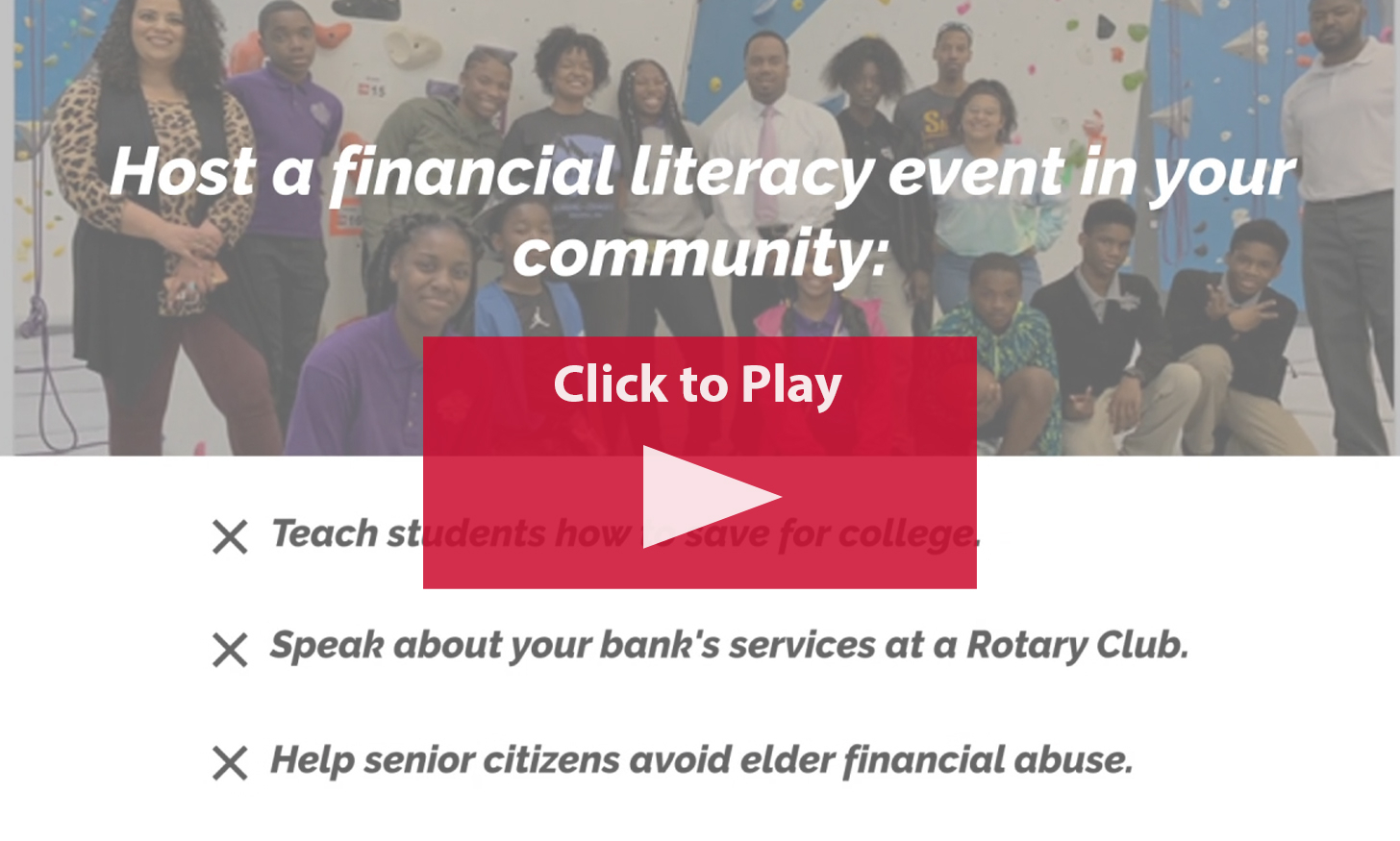Tennessee Financial Literacy Week   Tennessee Bankers