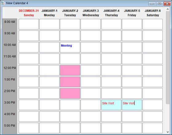 Types Of Calendar   Smart Calendar Software User Guide