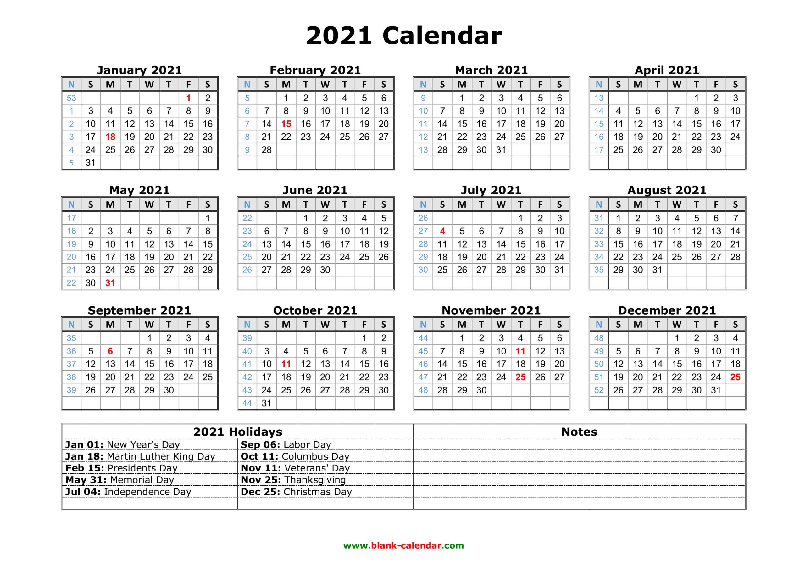 Walmart Fiscal Year 2021 Calendar