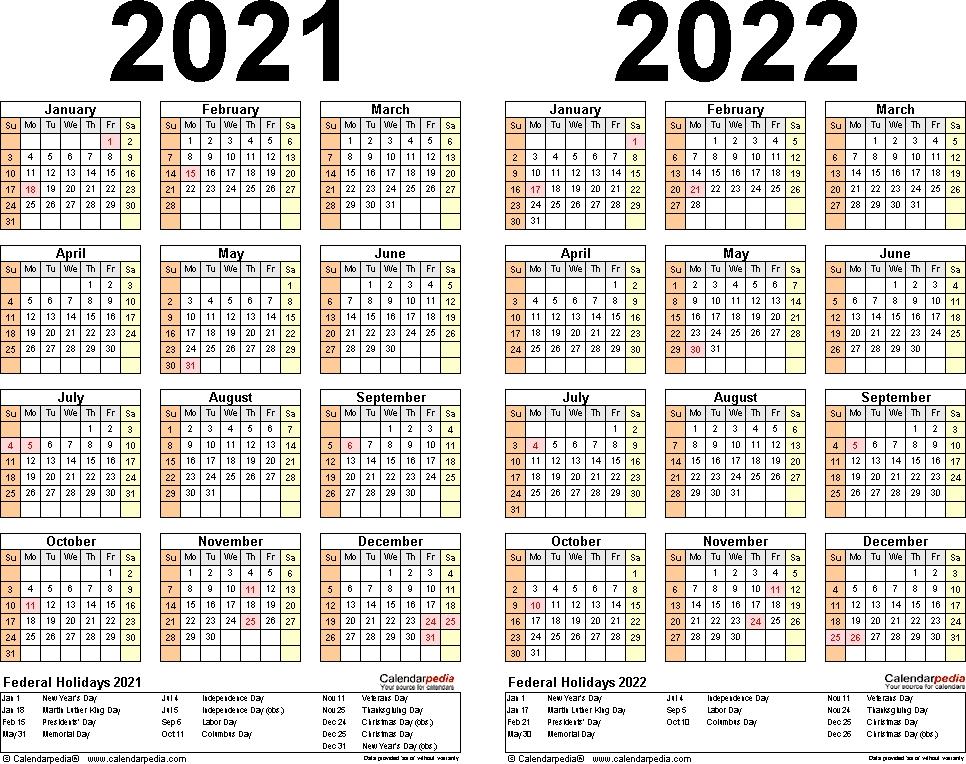 Year 2021 Calendar Printable Full For Agenda | Calvert Giving