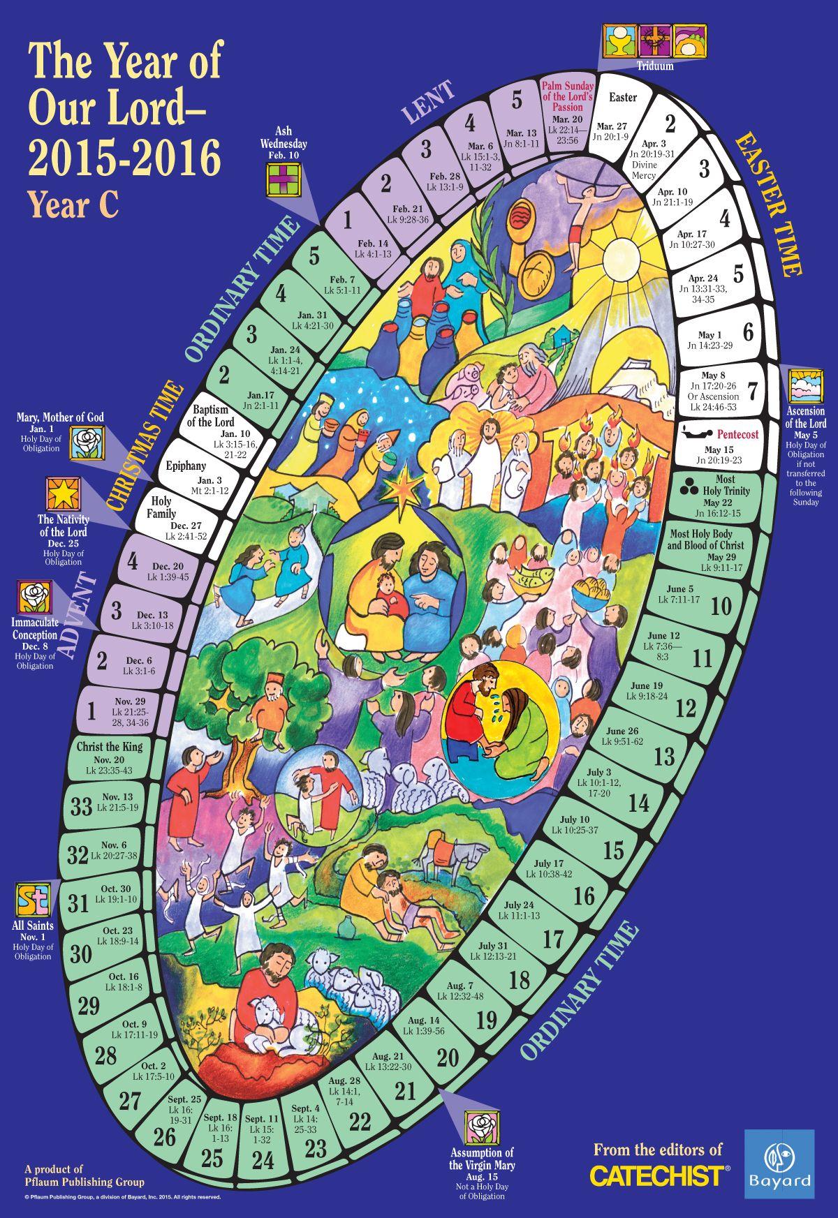 20+ Liturgical Calendar 2021 - Free Download Printable
