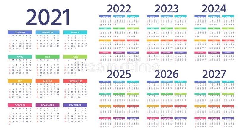 2021 2022 2023 Thrre Year Calendar Ireland   Ten Free