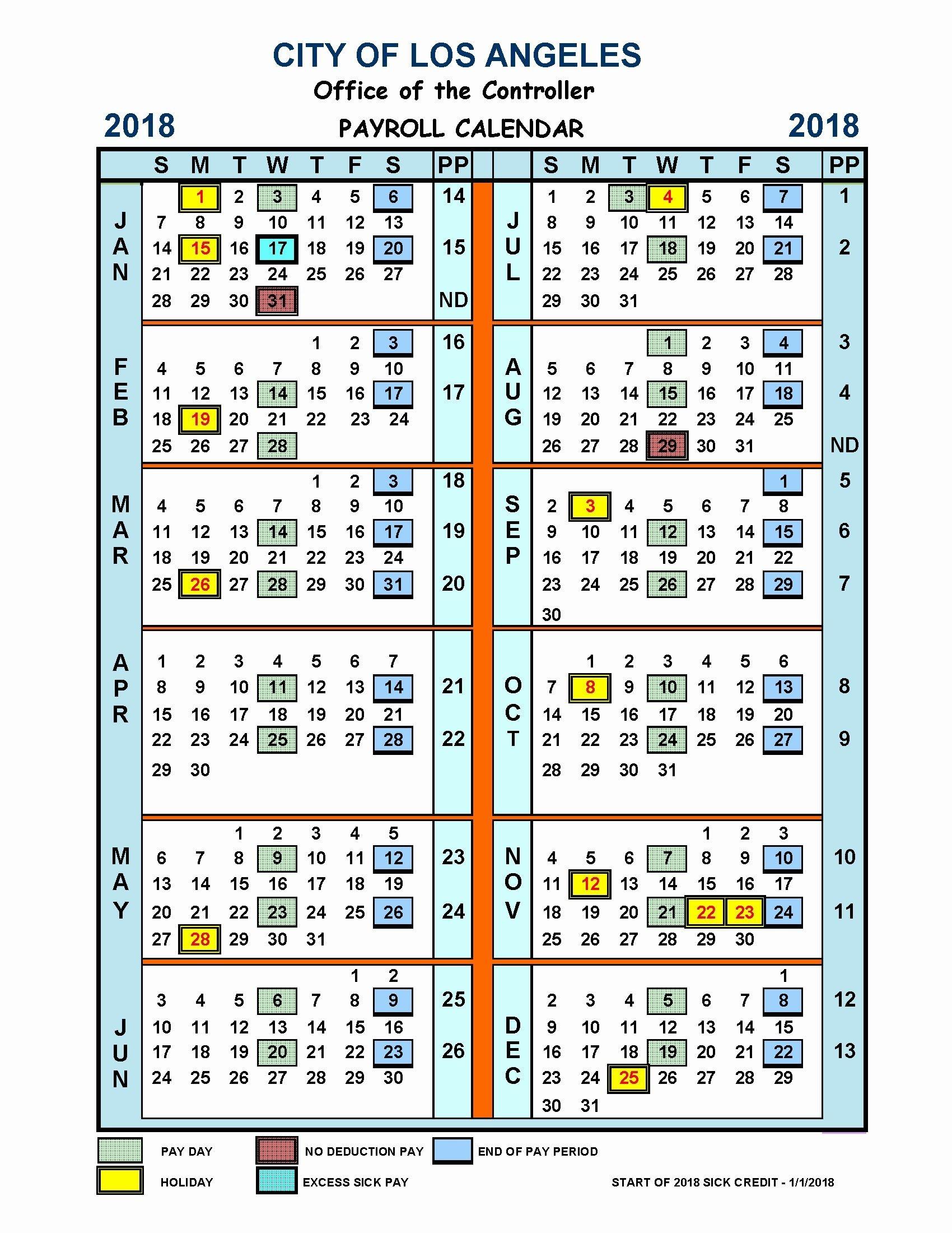2021 Bi-Weekly Payroll Calendar | Calendar Template Printable