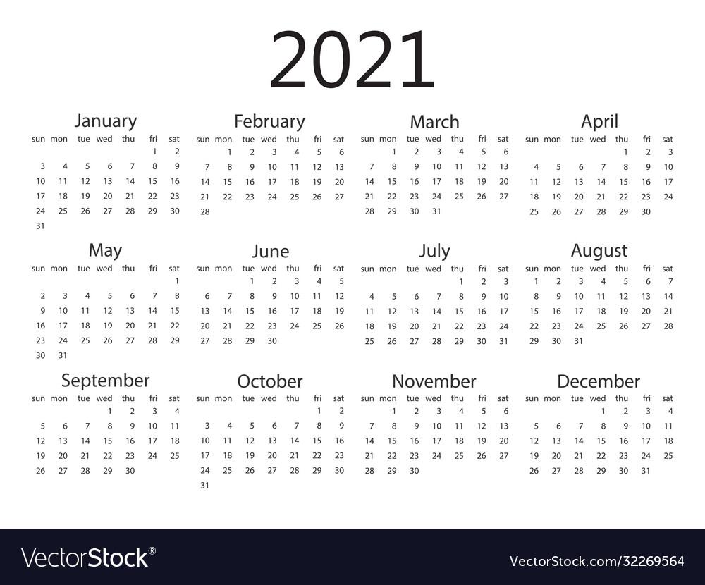 2021 Calendar Week Starting Sunday | Printable March