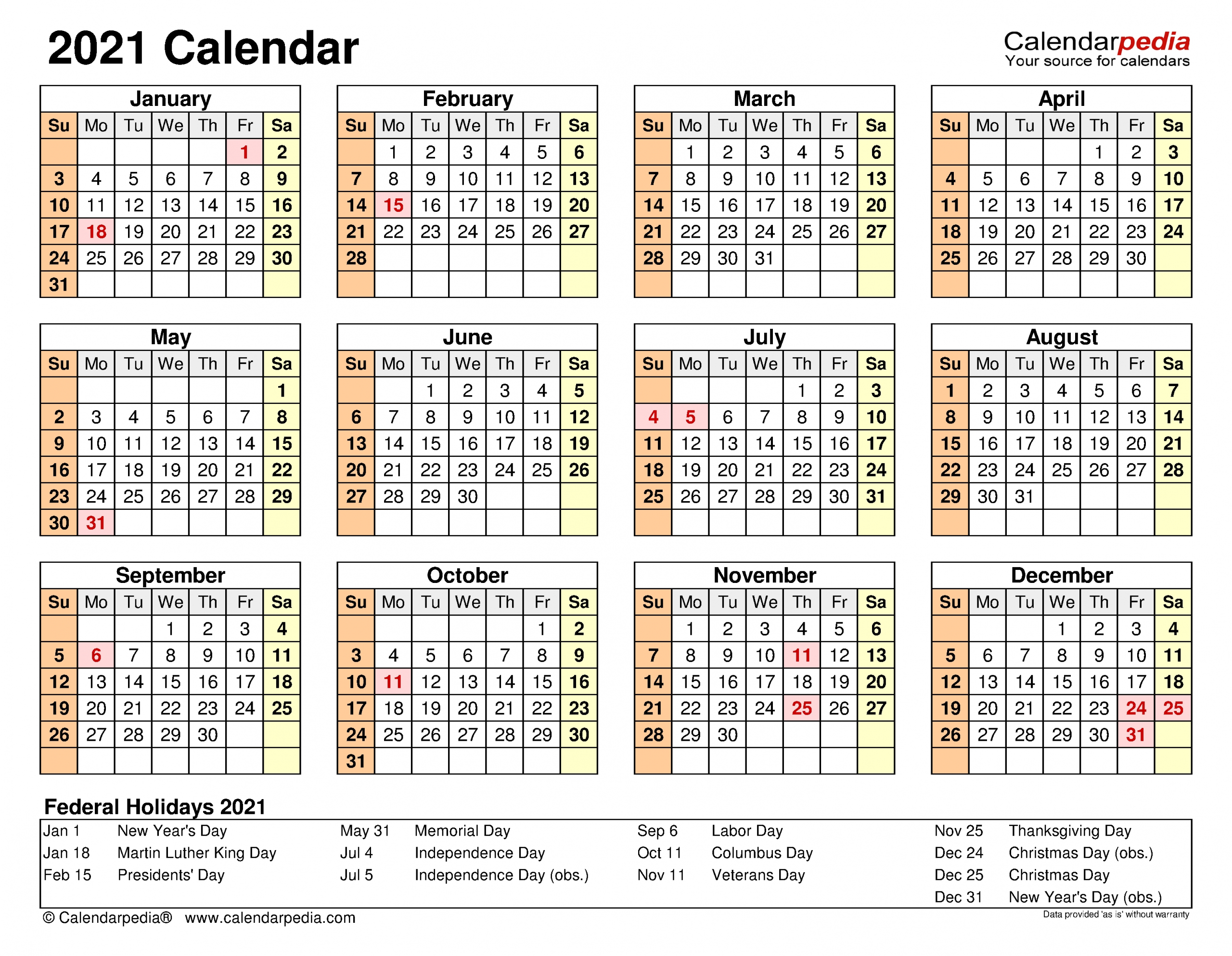 Calendar 2021 Excel   Month Calendar Printable