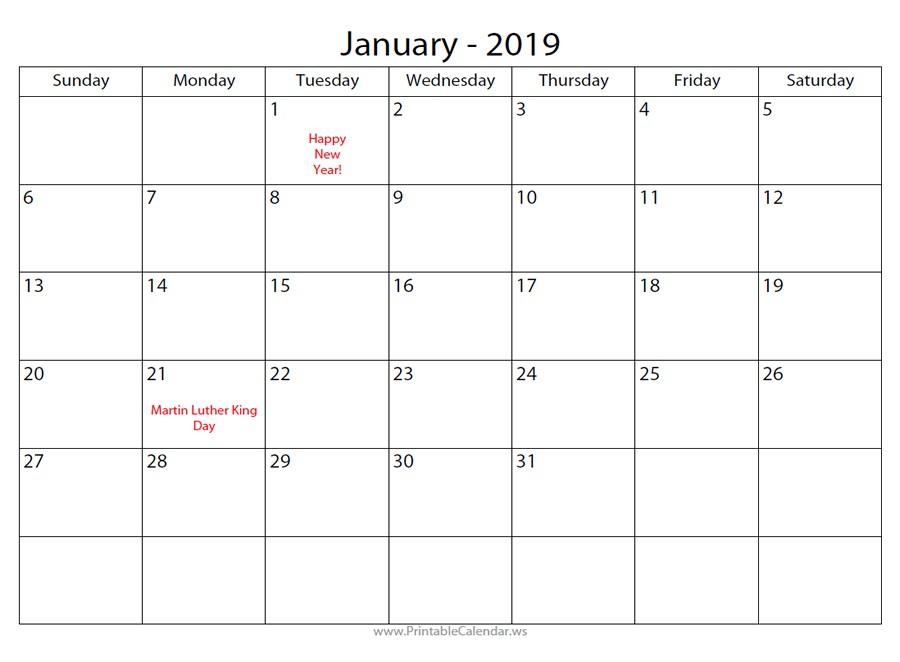 Calendar Maker Printable - Calendar 2021