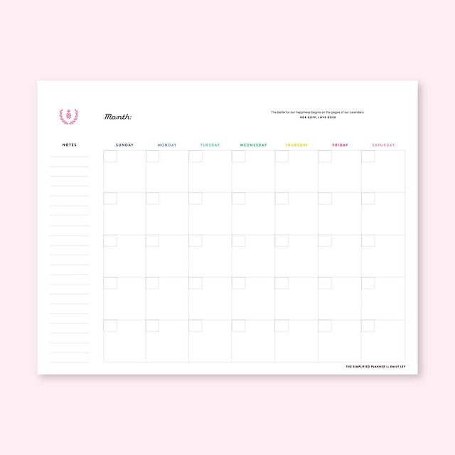Emily Ley | Planner Addicts, Planner Paper, Organization