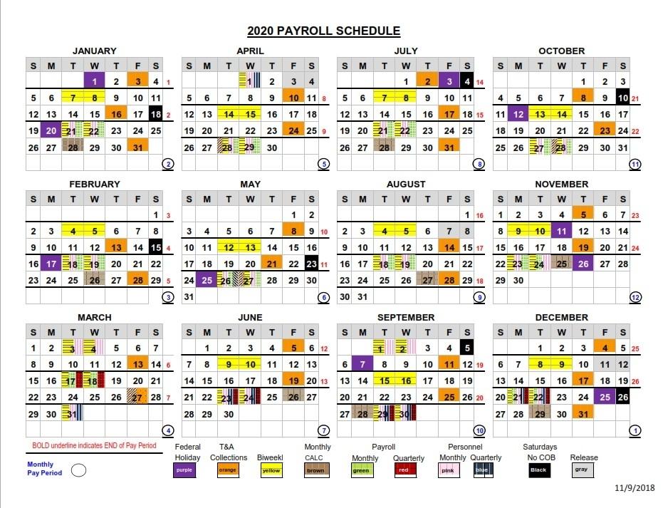 Federal Pay Period Calendar 2021 2020   Qualads