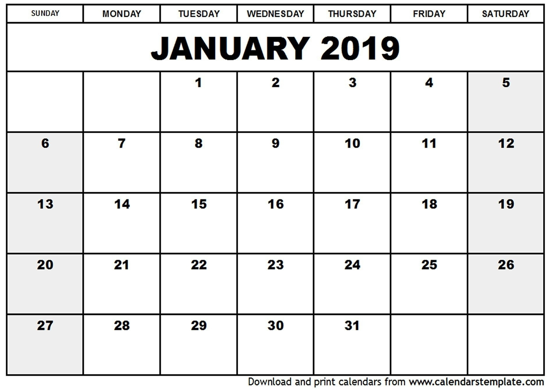 Free Fill In Calendars 2021   Calendar Template Printable