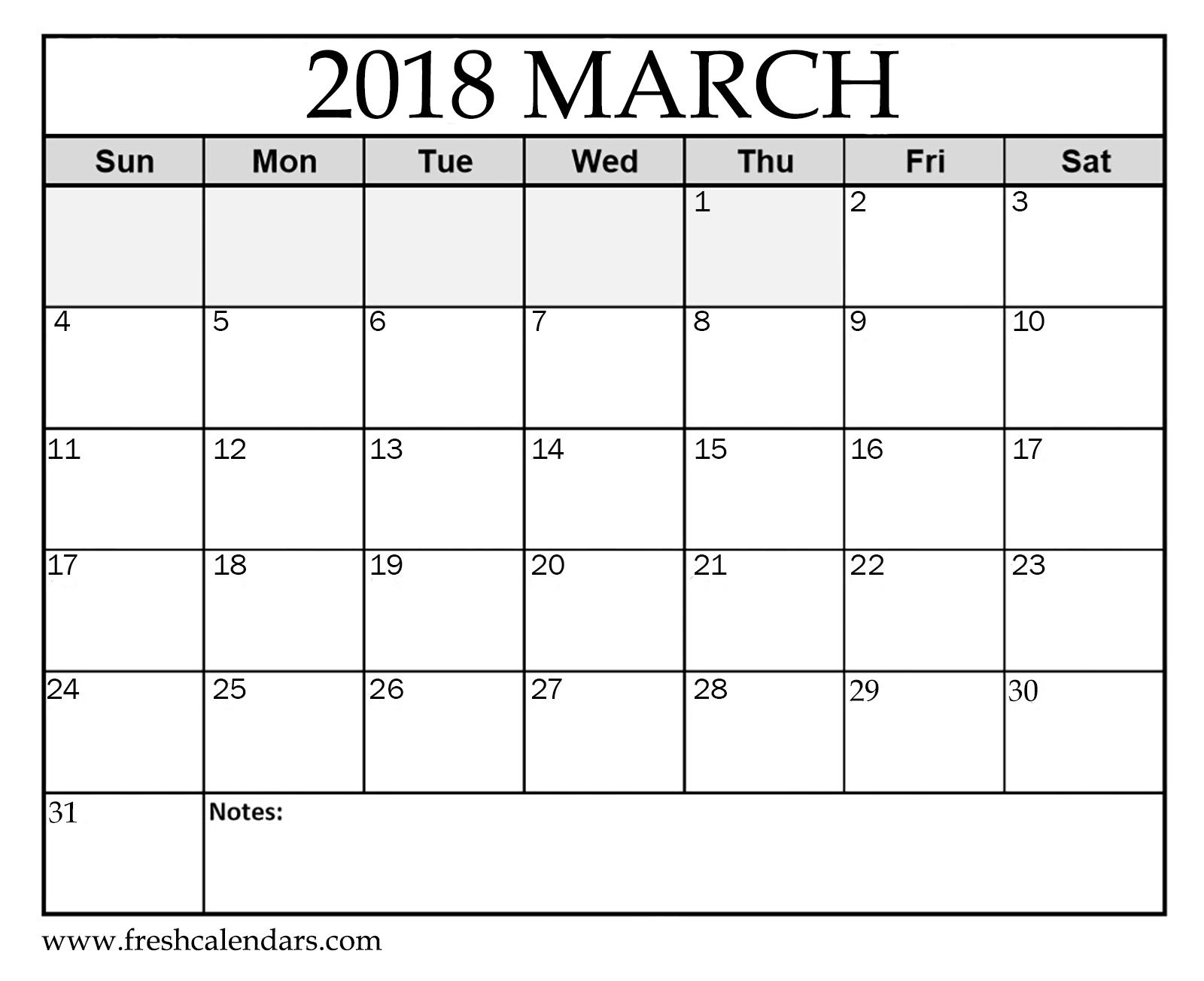 Free Printable Calendar Templates No Download - Basuh