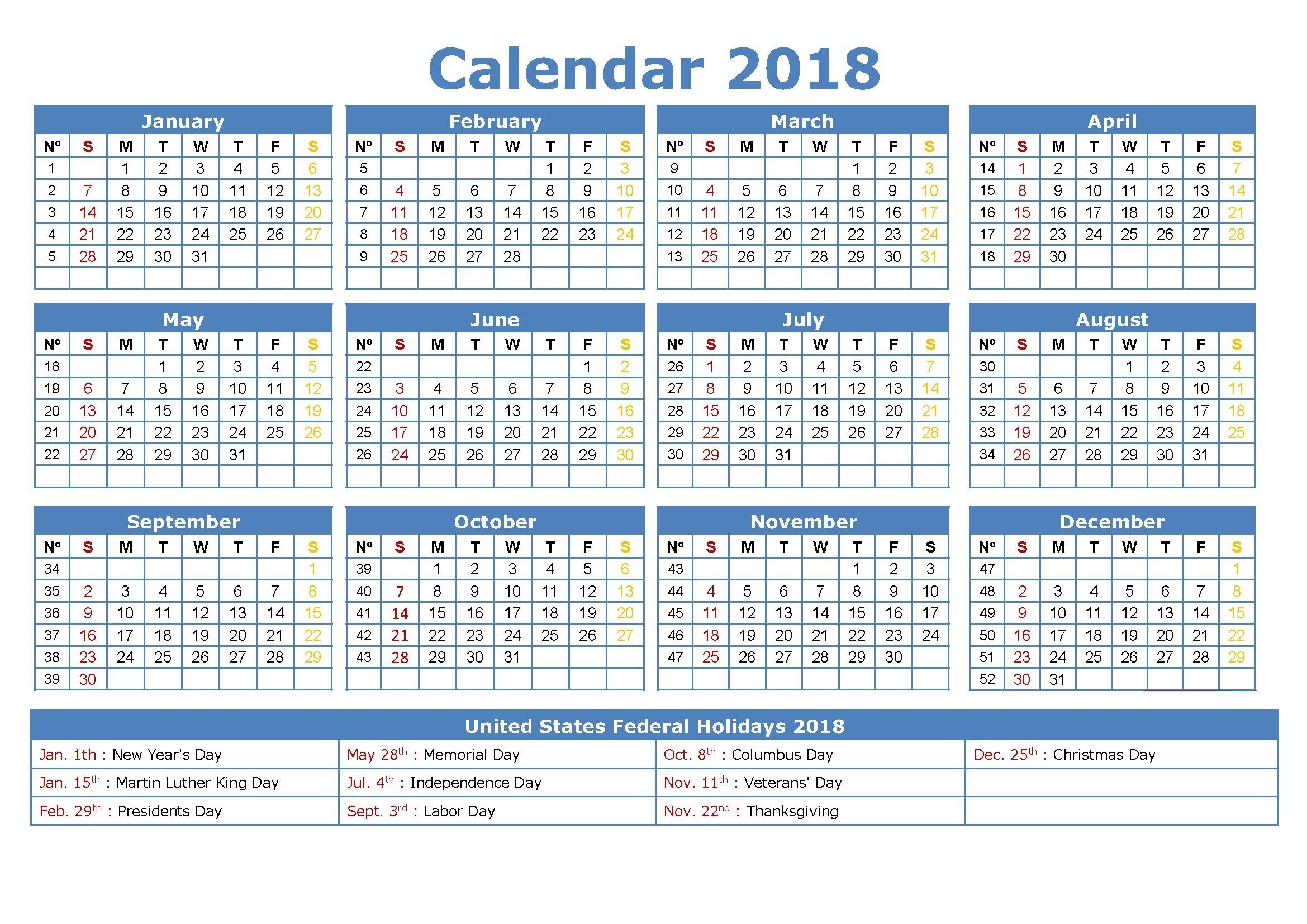Free Printable Employee Attendance Calendars - Calendar