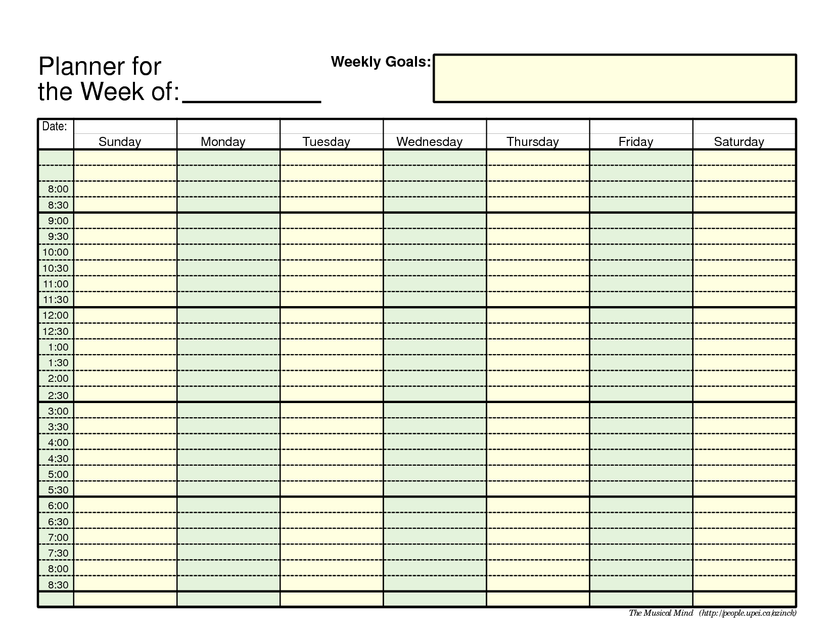 Free Printable Employee Schedule 1 Employee Pdf | Example