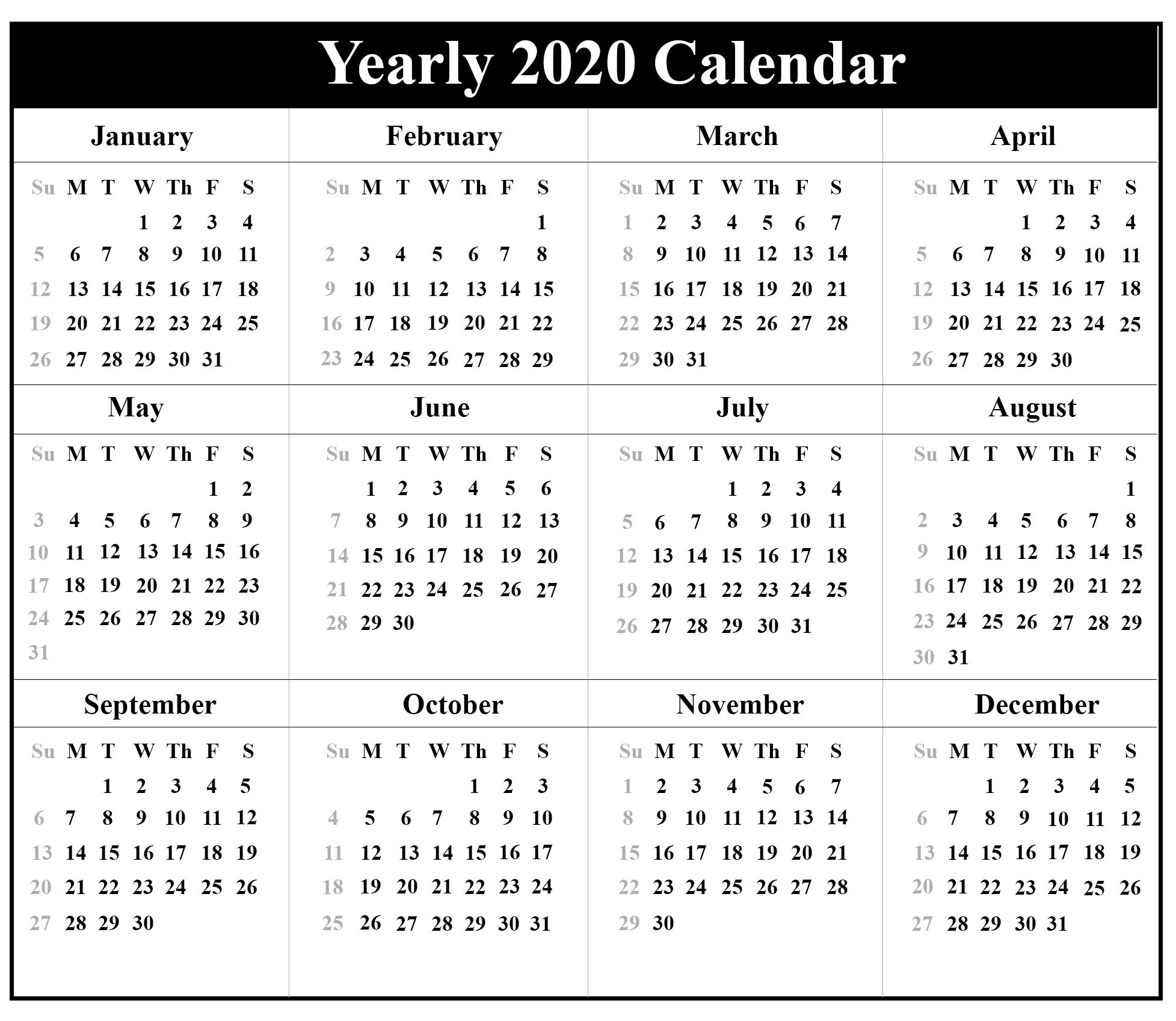 Free Printable Pocket Calendars 2021 | Calendar Printables