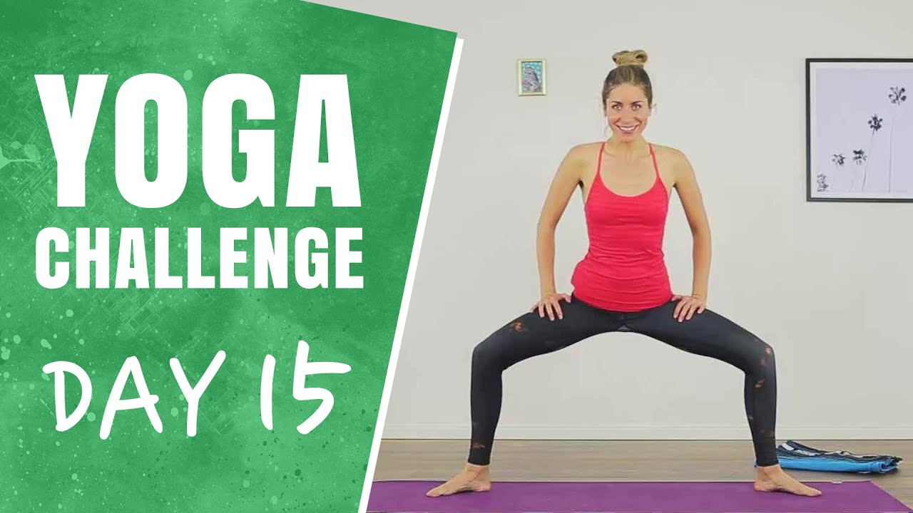 Hamstrings And Inner Thighs   Day 15   30 Days Of Yoga