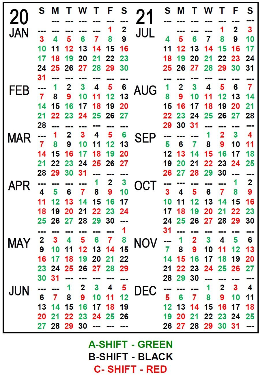 Iaff Local 21 - In Fire Shift Calendar In 2021   Calendar