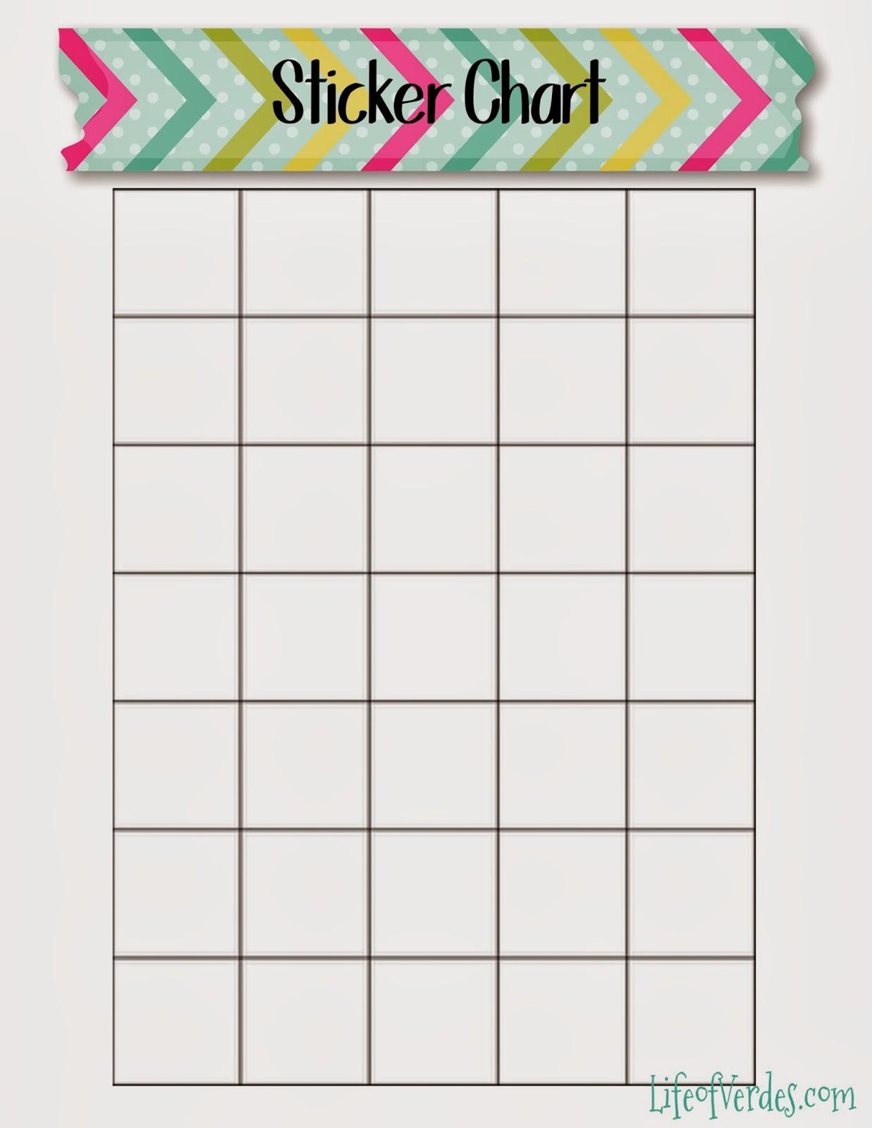 Life Of Verde'S : Free Washi Tape Themed Preschool Printables!