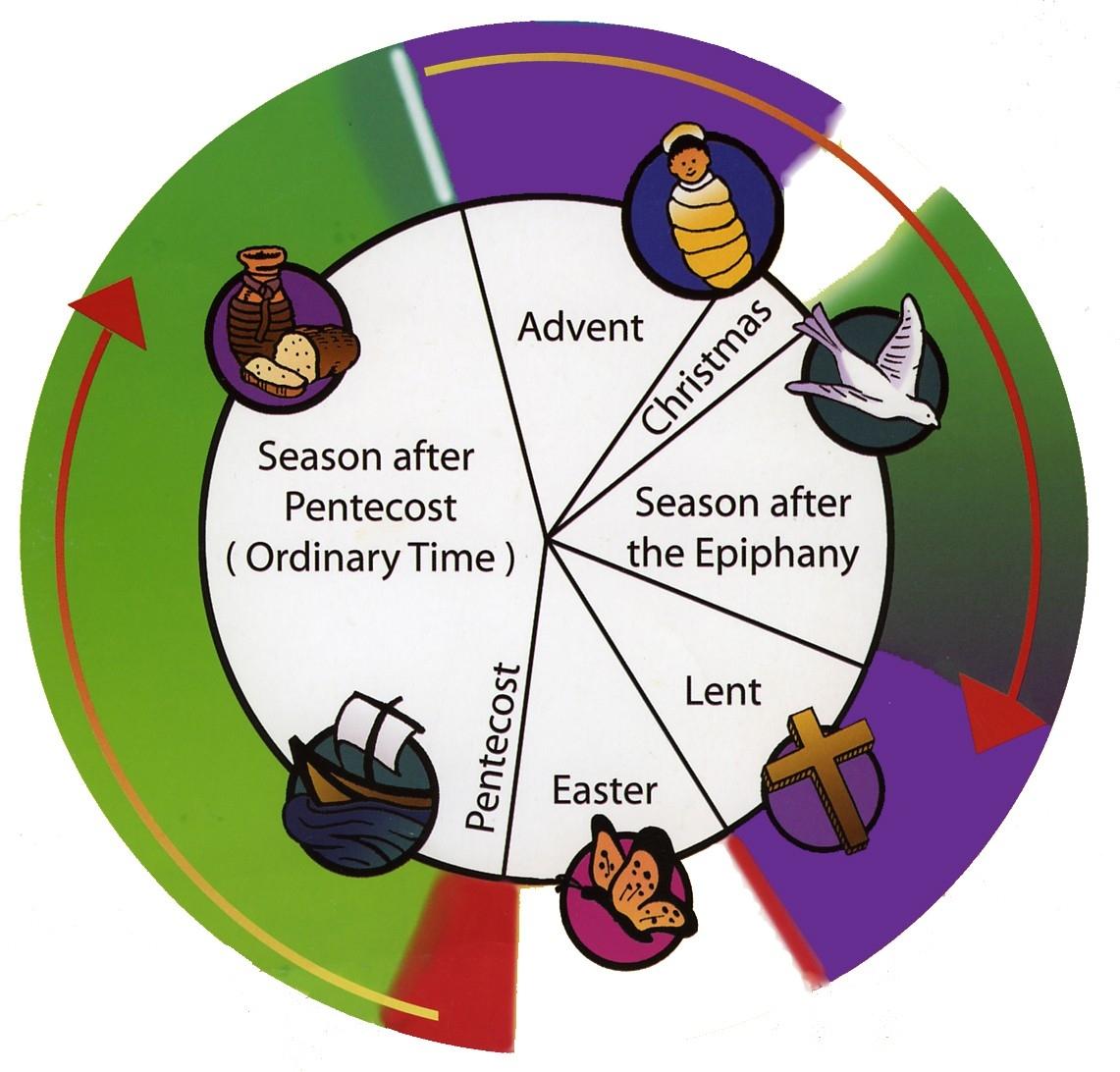 Methodist Liturgical Calendar - Template Calendar Design