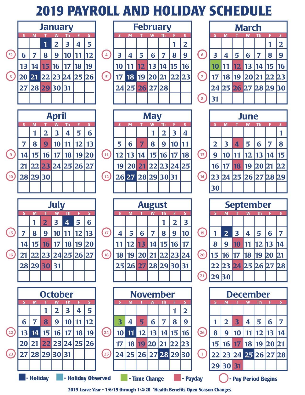 Payroll Calendar Federal Government   Payroll Calendar 2021