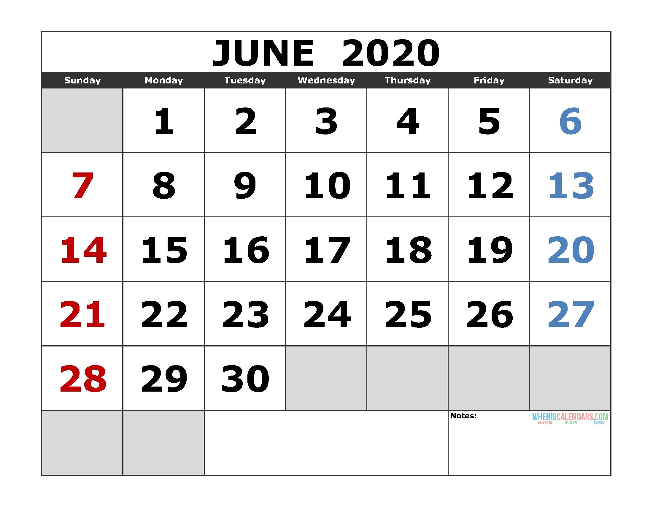 Pick Free Printable Monthly Calendar Monday Through Friday