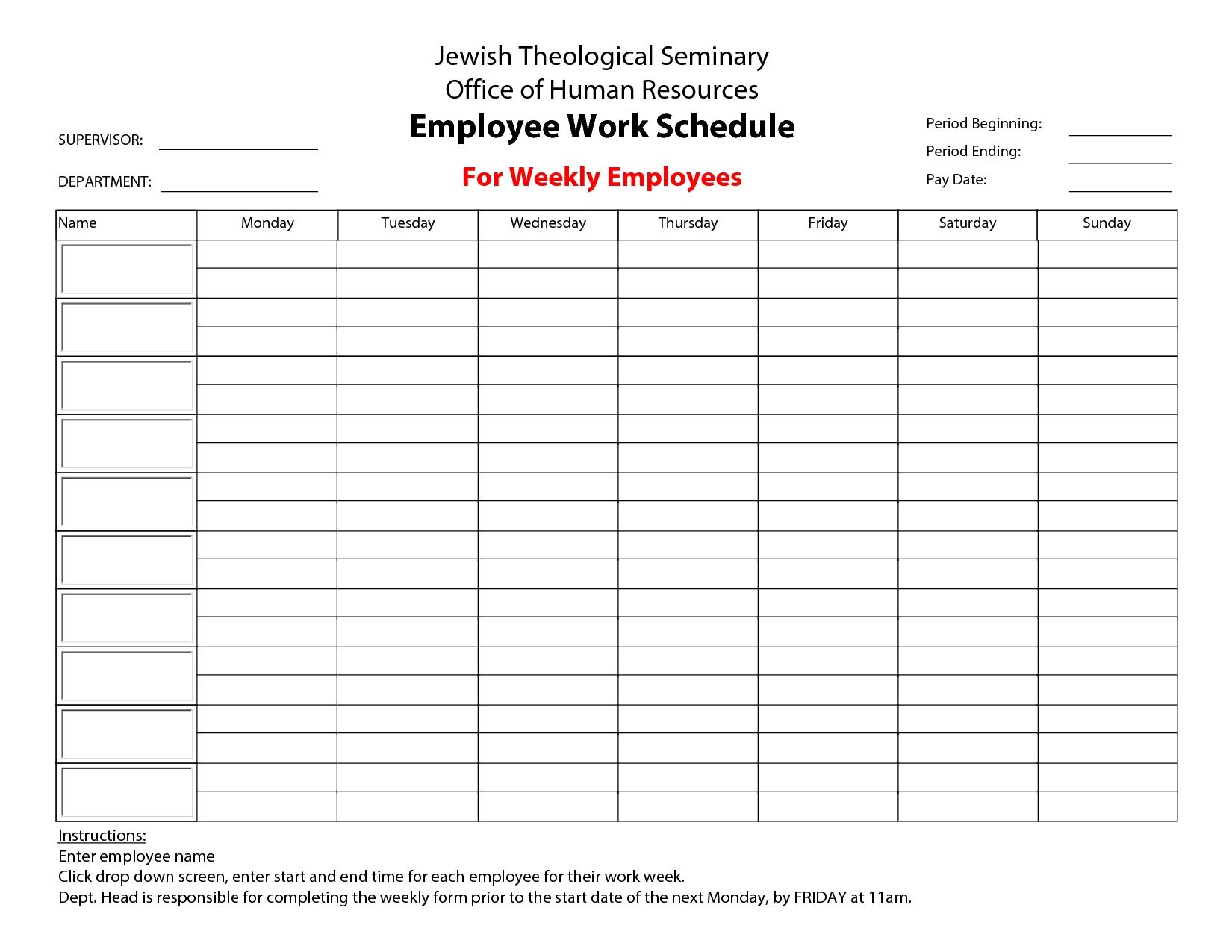 Print A Calendar Weekly | Ten Free Printable Calendar 2020