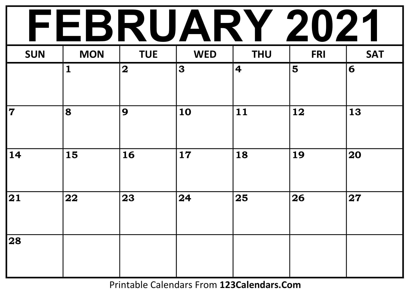 Print Free 2021 Calendar Without Downloading Weekly
