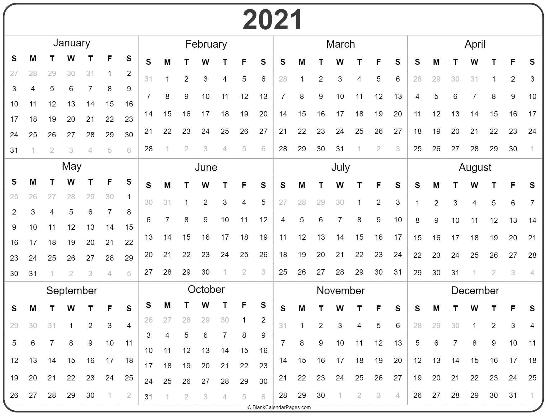 Printable Methodist 2020 Liturgical Calendar - Template
