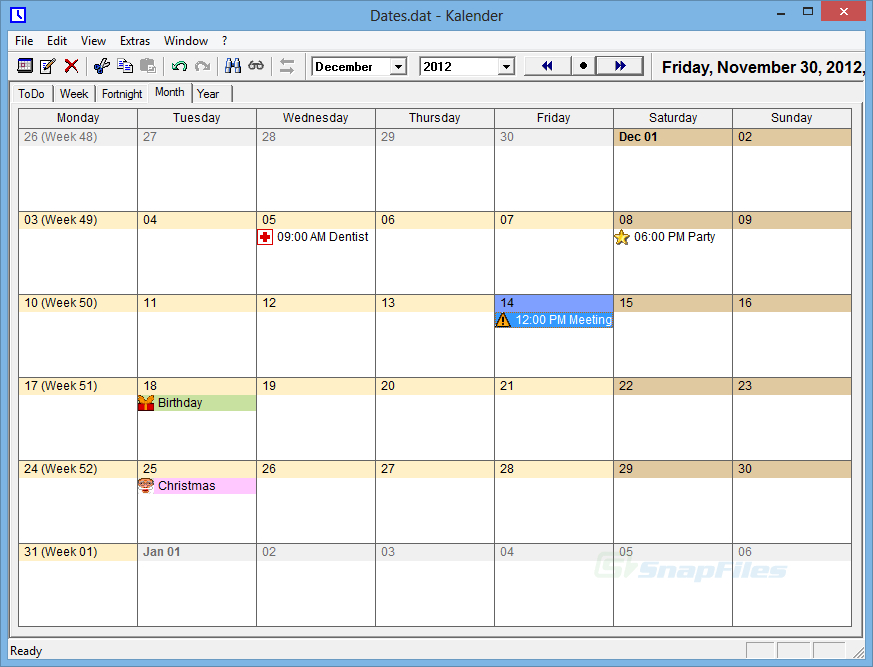 Schedule Template Monday Through Sunday Top Ten Fantastic