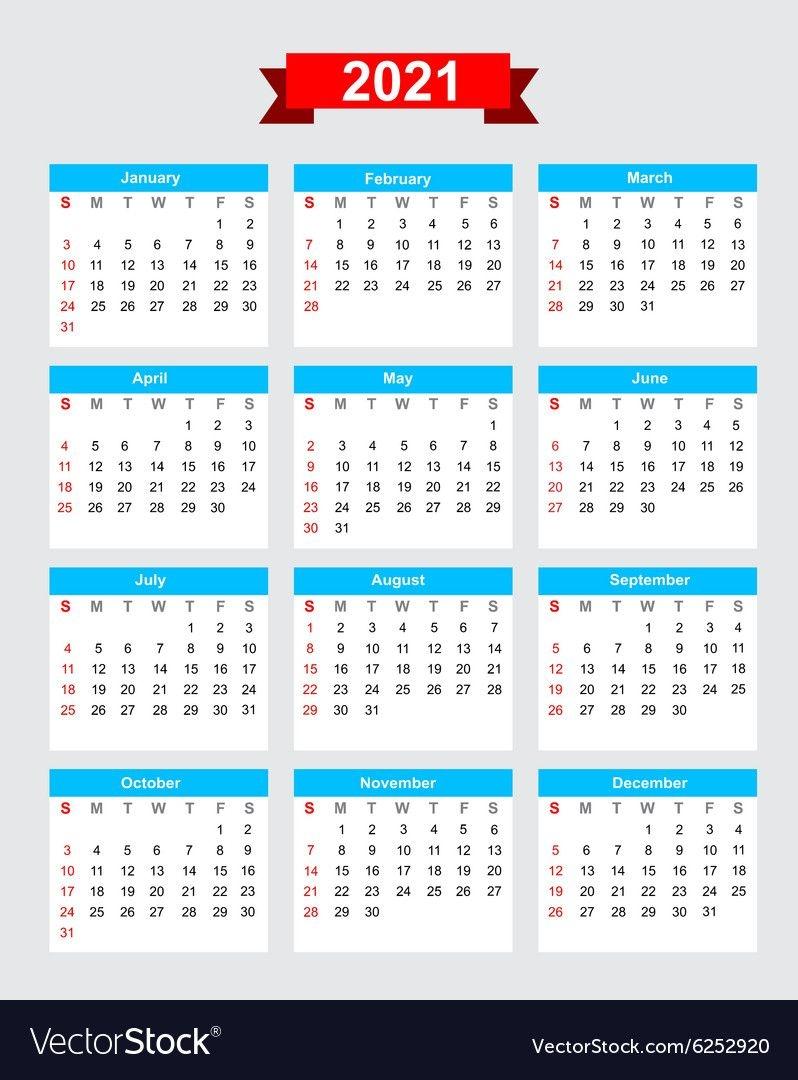 The 5 Year Calendarc Starting 2021 | Get Your Calendar