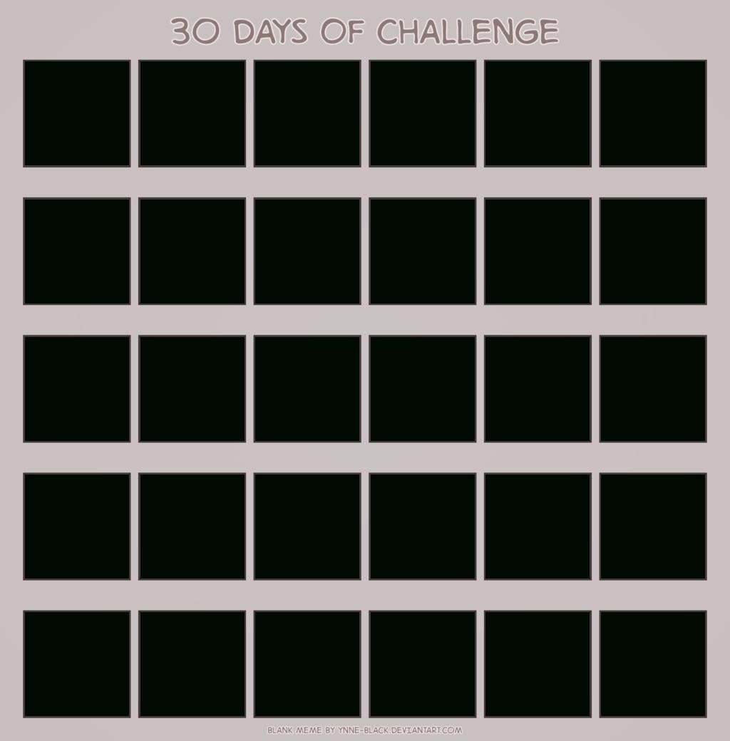 Universal Blank 30 Day Calendar Printable   Get Your