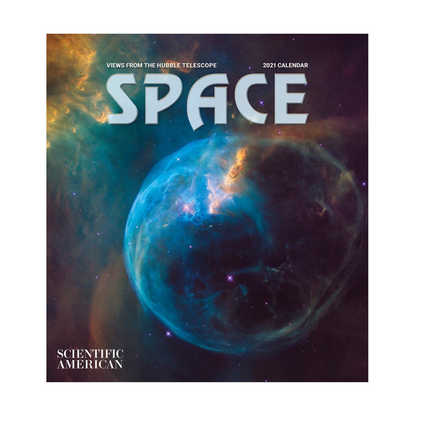 Wall Calendar 2021 Space - Chester Beatty Shop