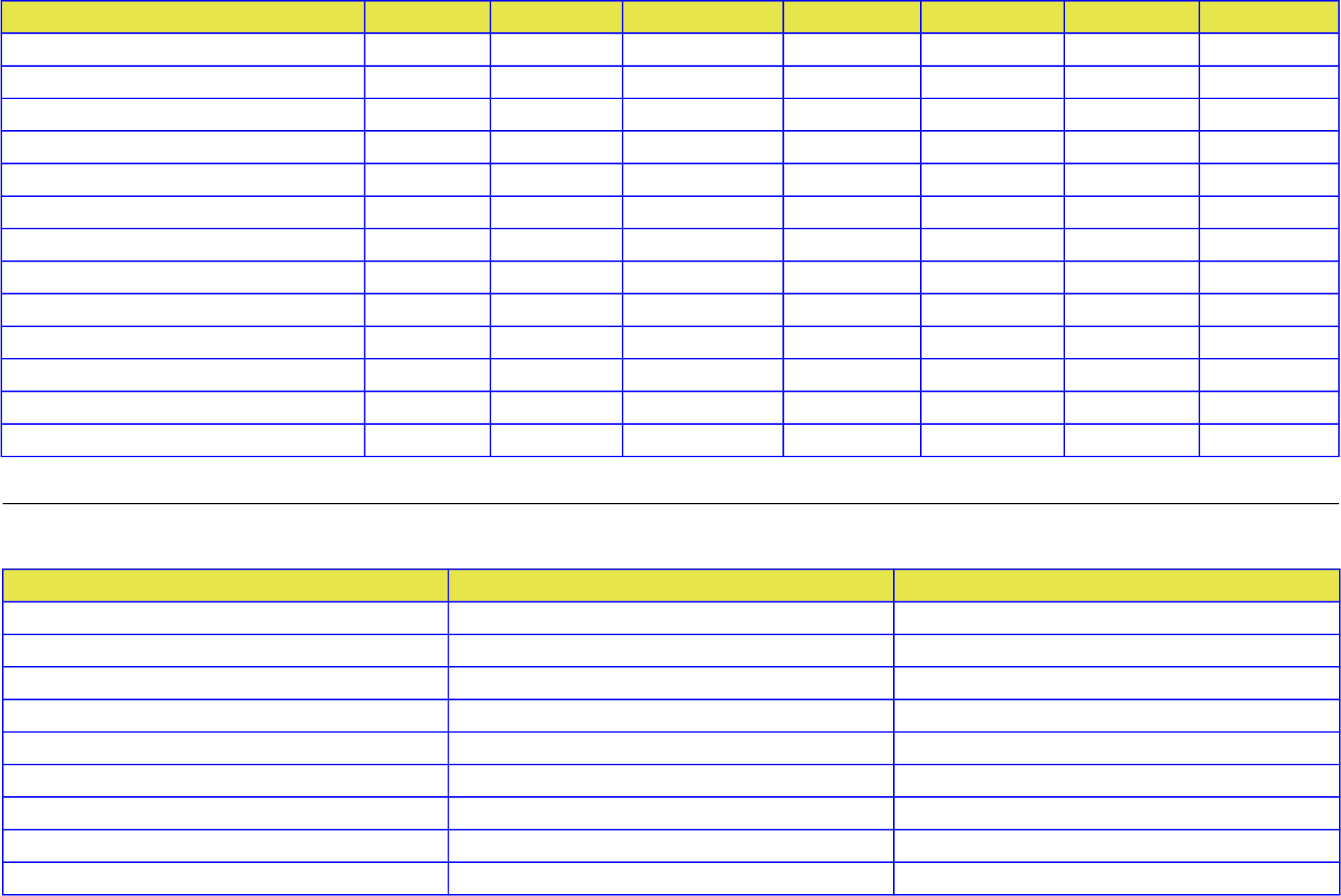 Weekday And Weekend Chore Chart Templates Free Download