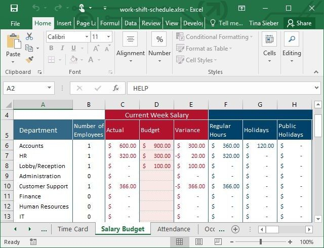 Working Out 24/7Shift Patterns In Excel : Pitman Shift